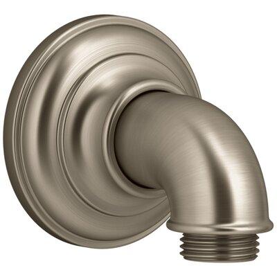 Artifacts Wall-Mount Supply Elbow Finish: Vibrant Brushed Bronze
