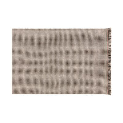 Garden Layers Gofre Brown Indoor/Outdoor Area Rug Rug Size: Rectangle 411 x 68