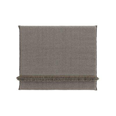Garden Layers Diagonal Outdoor Floor Pillow Color: Aloe/Opal