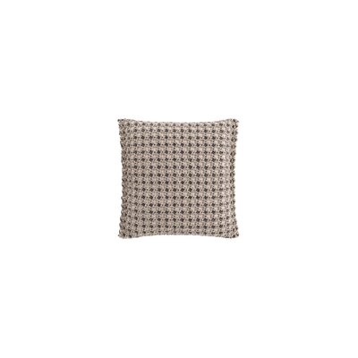 Garden Layers Gofre Outdoor Throw Pillow Color: Terracotta