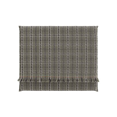 Garden Layers Tartan Outdoor Floor Pillow Color: Green