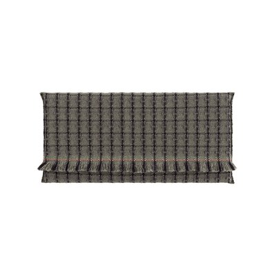 Garden Layers Checks Outdoor Floor Pillow Color: Green