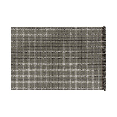 Garden Layers Tartan Green Indoor/Outdoor Area Rug Rug Size: Rectangle 411 x 68