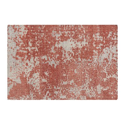 Japan Hand Knotted Wool Coral Area Rug Rug Size: Rectangle 68 x 910