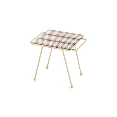 Mix & Match Brass End Table