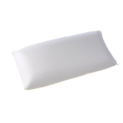 Eclipse Natural Latex Foam Pillow Size: King