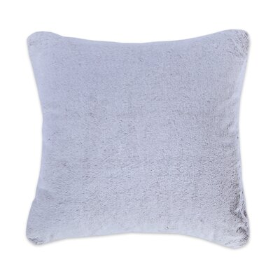 Frosted Grace Fashion Fur Throw pillow