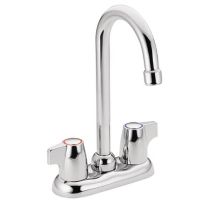Chateau Double Handle Kitchen Faucet Finish: Chrome