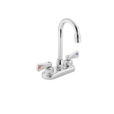 M-Dura Double Handle Centerset Kitchen Faucet Spout Height: 10.75