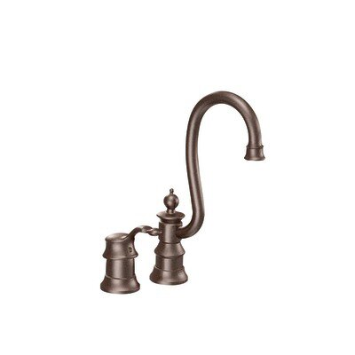 Waterhill Single Handle Kitchen Faucet Finish: Oil Rubbed Bronze