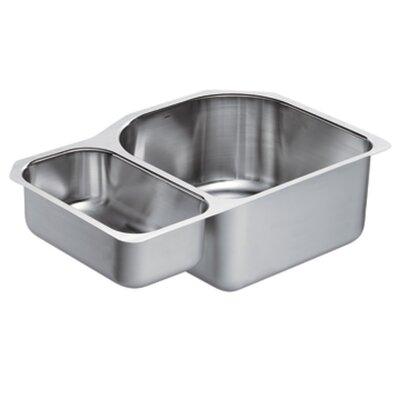 1800 Series 30.25 x 20 Double Bowl Kitchen Sink