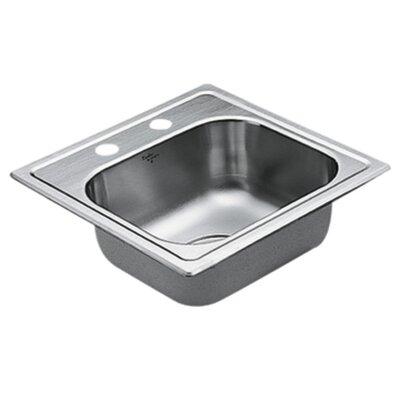 2200 Series Single Bowl Drop-In Kitchen Sink