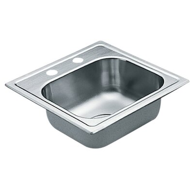 2200 Series 5.5 x 15 1 Drop-In Kitchen Sink