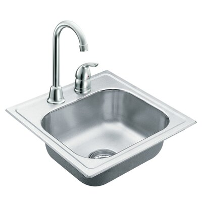 2000 Series Bowl Drop-In Kitchen Sink