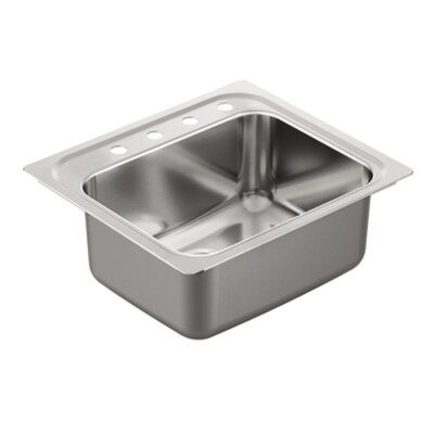 1800 Series Single Bowl Drop-In Kitchen Sink