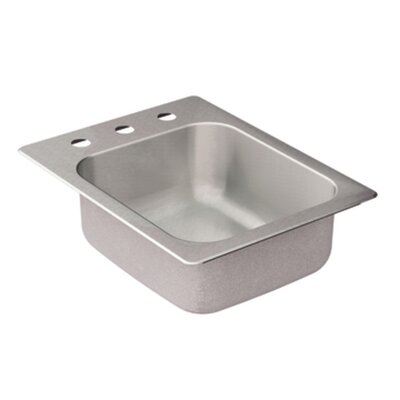 2000 Series Single Bowl Drop-In Kitchen Sink