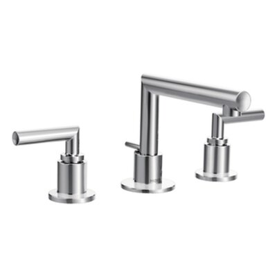 Arris Double Handle Widespread Bathroom Faucet Finish: Chrome
