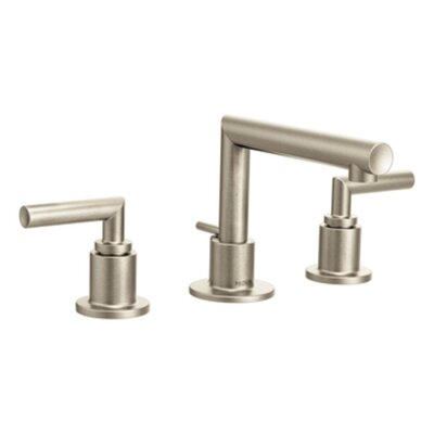 Arris Double Handle Widespread Bathroom Faucet Finish: Brushed Nickel