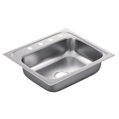 2200 Series Single Bowl Drop-In Kitchen Sink