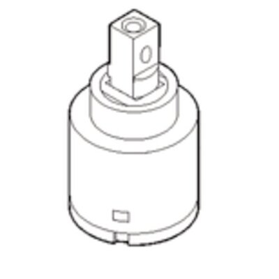 Commercial Single Handle Ceramic Cartridge for 8701 Series