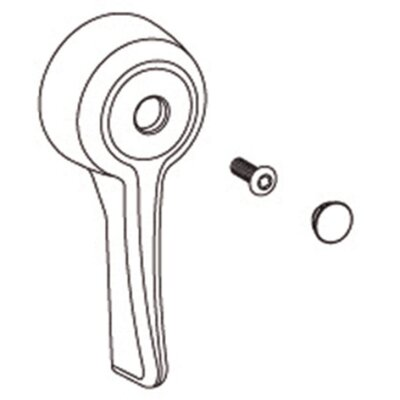 Commercial 3 Function Transfer Valve Lever Handle Kit