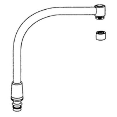 Commercial High Arch Spout Kit
