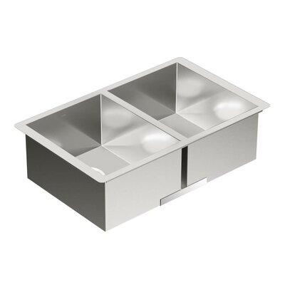 1800 Series 29 x 18.5 Double Bowl Kitchen Sink