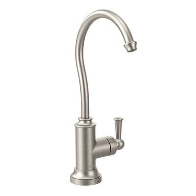 Sip Single Handle Single Hole  Kitchen Faucet Finish: Spot Resist Stainless