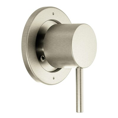 Align Faucet Trim with Lever Handle Finish: Brushed Nickel