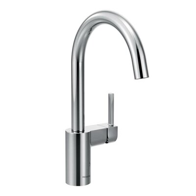Align Single Handle Single Hole Kitchen Faucet Finish: Chrome