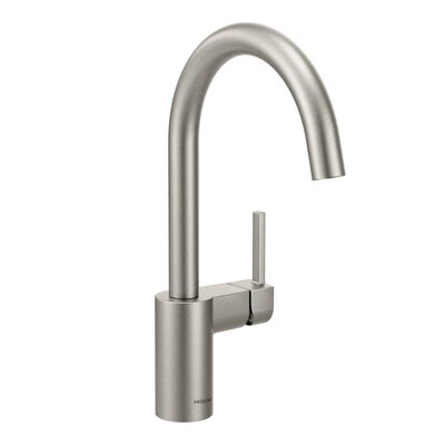 Align Single Handle Single Hole Kitchen Faucet Finish: Spot Resist Stainless