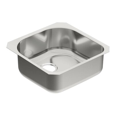 1800 Series 20 x 20 Single Bowl Kitchen Sink