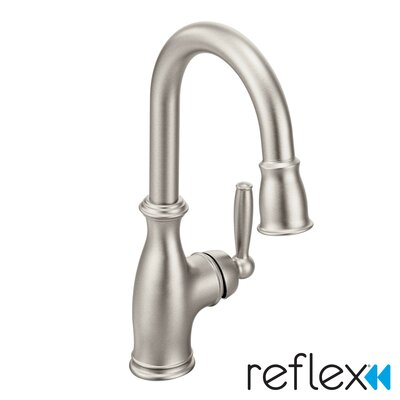 Brantford Pull Down Single Handle Kitchen Faucet Finish: Spot Resist Stainless