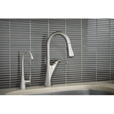 Notch Single Handle Kitchen Faucet Finish: Spot Resist Stainless