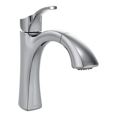 Voss Single Handle Kitchen Faucet Finish: Chrome