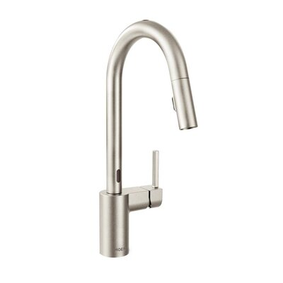 Align Pull Down Single Touch Handle Kitchen Faucet Finish: Spot Resist Stainless