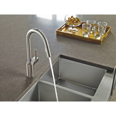 Align Single Handle Kitchen Faucet Finish: Spot Resist Stainless