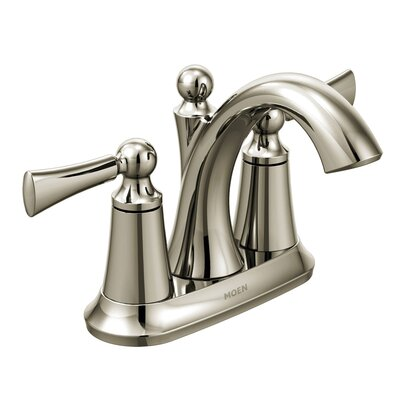Wynford Centerset Faucet Finish: Polished Nickel