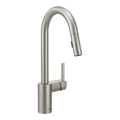 Align Pull Down Single Handle Kitchen Faucet Finish: Spot Resist Stainless
