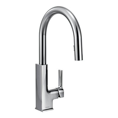 STo Single Handle Pull Down Kitchen Faucet Finish: Chrome