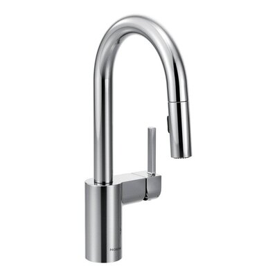 Align Single Handle Deck Mounted Bar Faucet Finish: Chrome
