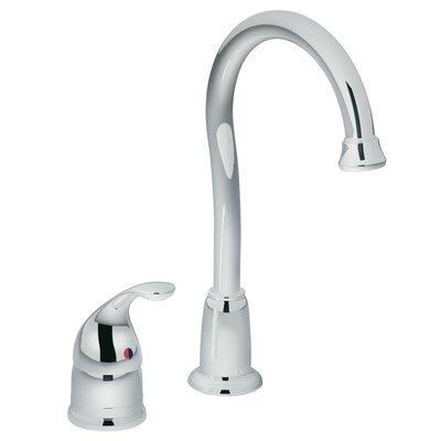 Camerist Single Handle Kitchen Faucet Finish: Chrome