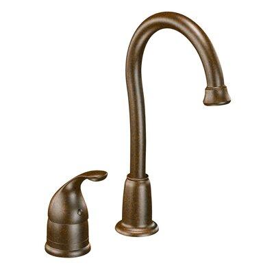 Camerist Single Handle Kitchen Faucet Finish: Oil Rubbed Bronze