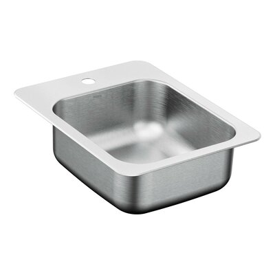 2000 Series 17.31 x 22.31 Single Bowl Kitchen Sink