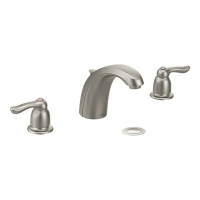 M-Bition Double Handle Widespread Bathroom Faucet Finish: Classic Brushed Nickel