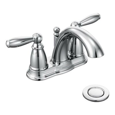 Brantford Double Handle Centerset Bathroom Faucet