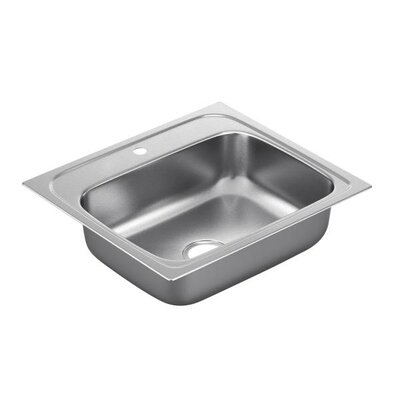 2000 Series 25 x 22 Single Bowl Kitchen Sink