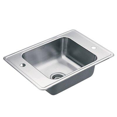 Commercial 17 x 14 Single 20 Gauge Bowl Classroom Sink