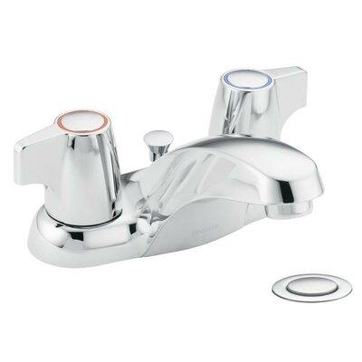 Chateau Double Handle Centerset Low Arc Bathroom Faucet
