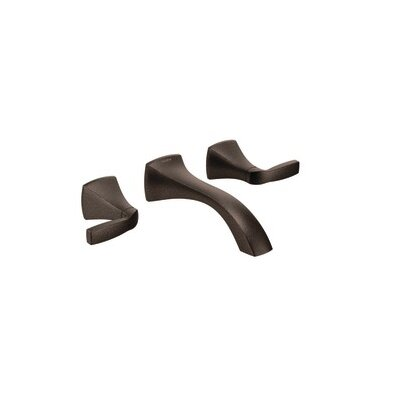 Voss Double Handle Wall Mounted Bathroom Faucet Finish: Oil Rubbed Bronze